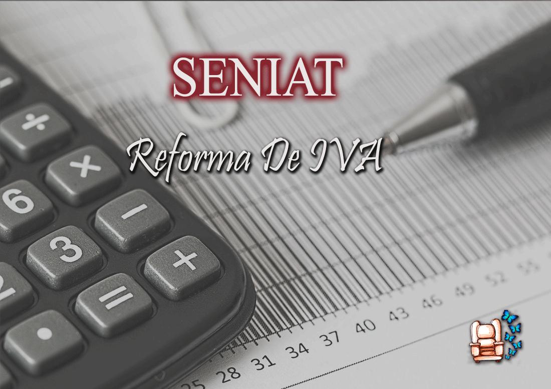 REFORMA DE IVA.